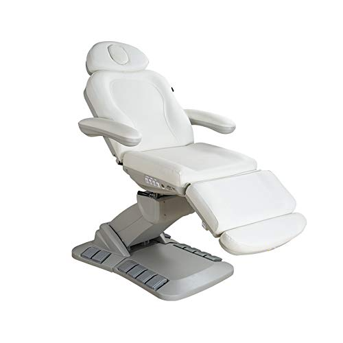 Spa Numa Swivel+ 4 Motor Electric Treatment Chair Bed With Built In Foot Pedals