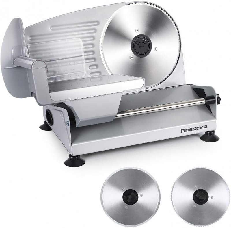 Anescra 200w Electric Deli Food Slicer
